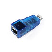 High Quality USB Adapter USB2.0 To LAN RJ45 Ethernet 10/100Mbps Network Card Adapter For Win7 Win8 Android Tablet PC
