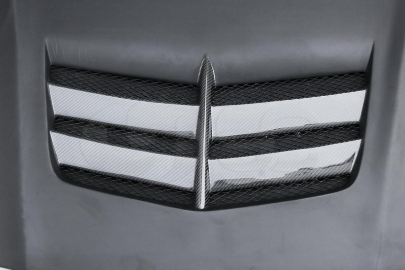 2013-2015 Mercedes Benz W117 C117 CLA Class Bkss Style Hood Bonnet FRP (5)