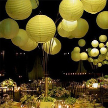 Mix Colors 20pcs/lot 12''(30cm) Chinese Paper Lantern Lamp Festival Wedding Party Decoration White Lanterns Wholesale 2017 New