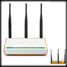 by dhl or ems 50pcs 300Mbps DSL broadband N router, strong signal, 3 5dbi omni Antennas