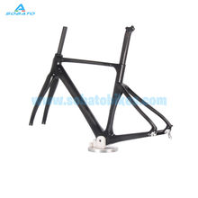 Buy 2016 New sale road frame racing AREO road carbon fiber bicycle frame road TT bike carbon frame+fork+seatpost+headset+clamp for $499.00 in AliExpress store