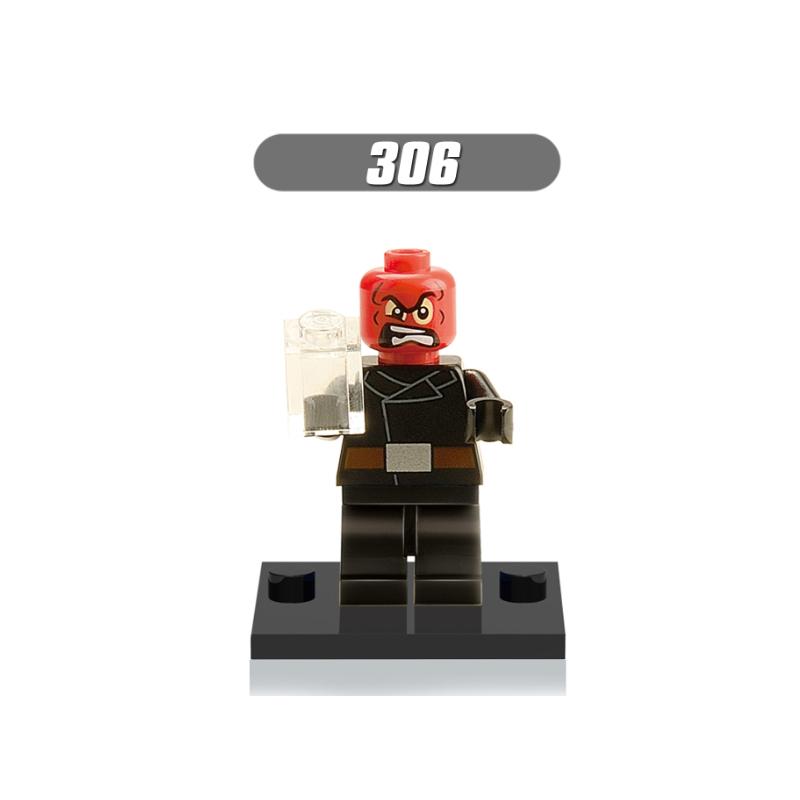 XH306- Red Skull