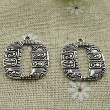 120 pieces tibetan silver nice charms 24x22mm #321