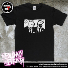 The Bunny The Bear Post-hardcore Band Wear A Suit Style 100% Cotton T-shirt Tee T Cloth(China)