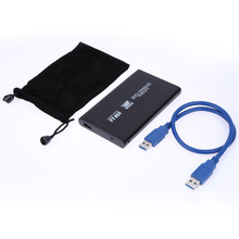 2.5 inch SATA HDD Enclosure Fast USB 3.0 Data Transfer Hard Disk Box External Enclosure Case with Cable Best Price