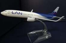 1:400 plane model Boeing 737-800 LAN Airlines aircraft  B737 Metal simulation airplane model for kid toys Christmas gift