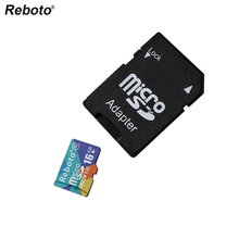 Newest Reboto Memory Card Micro SD Card 4GB 8GB 16GB 32GB 64GB class10 Microsd TF card Pen drive Flash Adapter Reader(China)