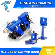 Non-metal and metal Mixed Cut head 500W Mixture Laser Cutting Head for CO2 Laser Cutting Machine