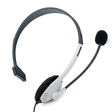 New Wired Online Video Game Chat Headphone Headset with Microphone for Xbox 360(white)