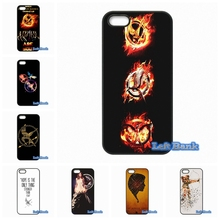 For Apple iPhone 4 4S 5 5C SE 6 6S 7 Plus 4.7 5.5 iPod Touch 4 5 6 The Hunger Games movie Mockingjay bird Case Cover