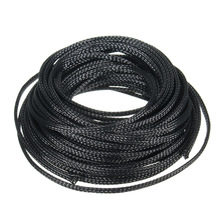 Cable Sleeves Wire-Protection Pet Braided Heat-Insulation 10M 4mm 1pc