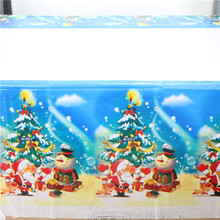 lovely merry christmas theme home decor tablecloth/cover table ware party supplies dinner maps 108*180cm 1pcs