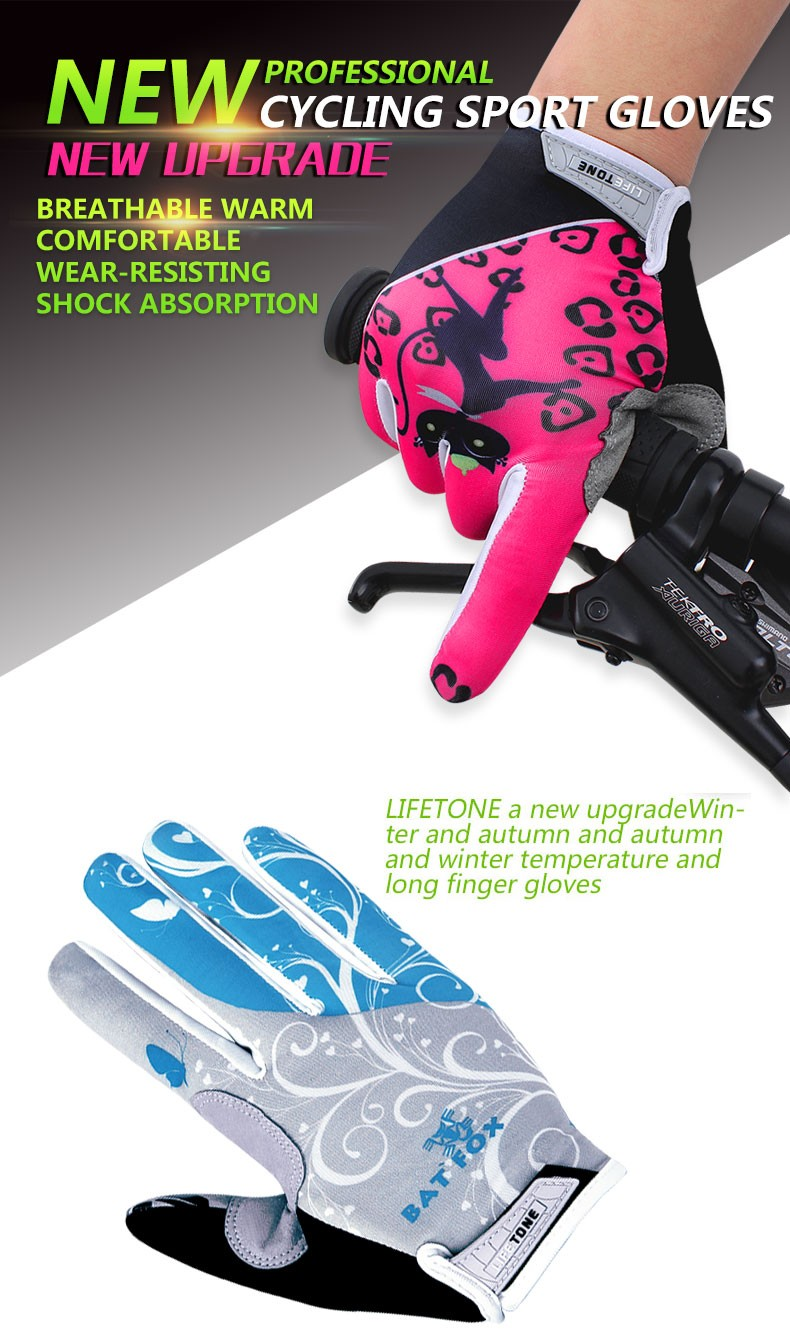 woman Cycling gloves_001