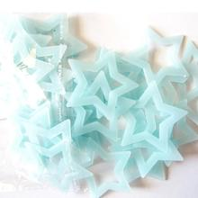 Wall stickers 40PCS Kids Bedroom Fluorescent Glow In The Dark Stars Wall Sticker Luminous star luminous stickers for living room