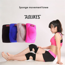 1PCS Volleyball Knee Pads Thicker Sponge Sports Support Kneepads For Basketball Dance Joelheira Rodilleras Protector A-0216