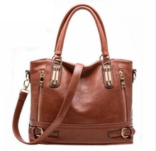 Fashion Designer Brand Women Pu Leather luxury Handbags ladies Shoulder bags tote Bag female Retro Vintage Messenger Bag bolsa(China)