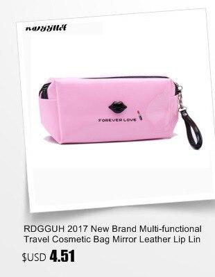 RDGGUH Flower Transparent PVC Waterproof Antifreeze Zipper Cosmetic Bag Flower Portable Makeup Tool Lady Cosmetic Bag Organizer