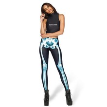 Women Print Star Elastic Long Pants Leggings Fashion Top Quality