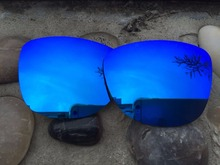 Blue Polarized Replacement Lenses for  Frogskins Sunglasses