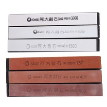 6 Pcs/set Sharpening Stones For Kitchen Knife Sharpener Professional Knife Sharpening System Whetstone Free Shipping