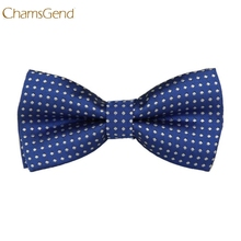 Chamsgend Newly Design Children Boy Polka Dot Bow Ties Formal Dress Accessories Aug25 Drop Shipping(China)