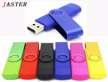 JASTER Nova usb 2.0 flash usb otg for smartphone/tablet/pc 8 gb 16 gb 32 gb 64 gb pendrives pen drive(China)