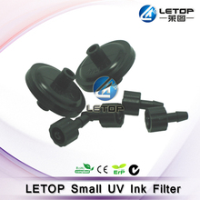 small dish shape black Solvent ink pall filter for uv flat printer