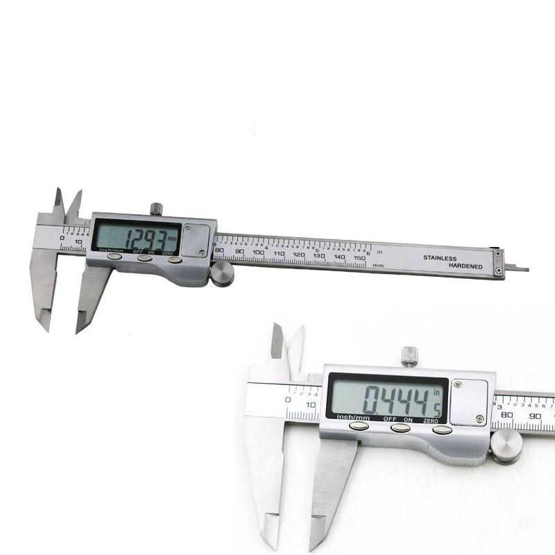 1pcs 6 150mm Metal Housed Decimal Digital Vernier Caliper Micrometer Measuring<br><br>Aliexpress