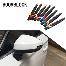 Buy BOOMBLOCK 2pcs Carbon Fiber Rearview Mirror Car Stickers Skoda Octavia A5 A7 2 Lexus Bmw F30 X5 E53 F10 E34 Lada Granta for $7.89 in AliExpress store