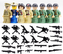 8PCS SHENYUAN SY614 War World 2 The Pacific Model War Japan VS US Navy Army weapons Compatible legoes Building Block kid toy