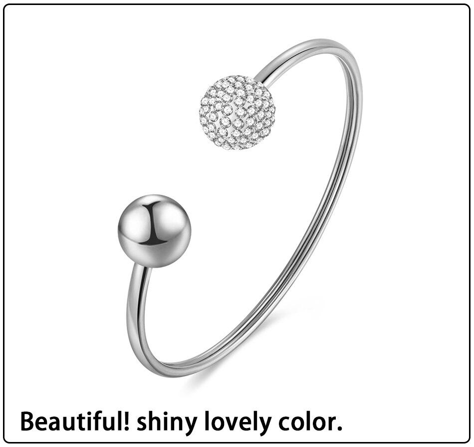 Gold Bracelets Bangles Stainless Steel (4)