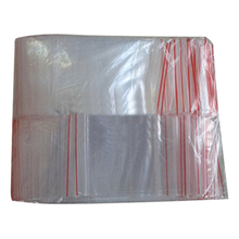 PHFU New 200 ziplock storage bags transparent plastic zipper bags(7*10cm)