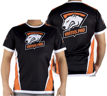 CSGO DOTA2 Game Team VP Virtus.PRO Jersey T Shirt GAMING t-shirt fast dry 100% Polyeste TEES O NECK(China)