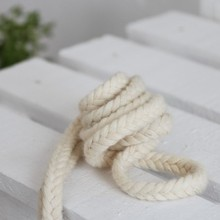 8/10mm Braided 100% Woven Cotton Cord DIY Beading String Packing Rope Decorative Craft Thread Jewelry Findings Accessories CD-08