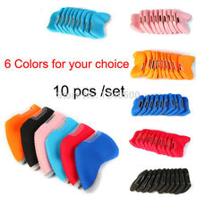 10pcs/set Golf Clubs Head Cover Golf Club Iron Putter Head Protector Set Golf Headcover Multi Color