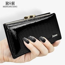 Buy HH Women's Wallet Purse Genuine Leather Lady's Wallets Small Short Clutch Coin Purse Luxury Female Luxury Purses for $12.25 in AliExpress store