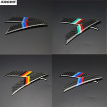 Buy 4pcs Car styling Carbon fiber wheel eyebrow protection sticker Peugeot 206 207 301 307 308 407 408 508 2008 3008 4008 for $5.00 in AliExpress store