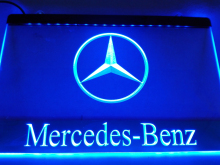LG004- Benz LED Neon Light Sign hang sign home decor  crafts