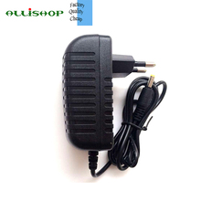 ALLISHOP 12V 2A DC 100V-240V AC power adapter smaller quality Plug In power supply Charger for CCTV LED Routor EU plug(China)