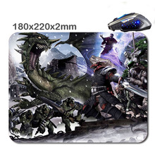 Hot Sale Dungeons And Dragons Art Game Mini Skid Computer Rectangular 180mmX220mmX2cm Laptop Mouse Mat Mices Pads