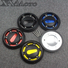 2 Pcs Engine Stator Cover CNC Engine Protective Cover Protector For Yamaha T MAX 530 2012-2016 Yamaha T-max 500 2008-2011(China)