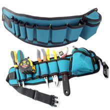 Waist Carpenter Rig Hammer Tool Bag Pockets Electrician Tool Pouch Holder Pack Case Strap Pocket Pouch Storage Holder 54cmx13cm