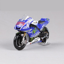 Mnotht Collection 1:18 Scale Motorcycle Model Toys YAMAHA YZR M1 motor #99 Model MotoGP Race Bikes Rossi Lorenzo Toys l65