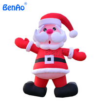 X149 Free shipping Christmas Decorations Inflatable Santa Holding Xmas Gifts Holiday Decoration,Advertising Inflatable Santa