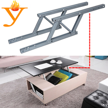 furniture frame easy rise and fold table/desk top coffee table mechanism with 455mm length B03(China)