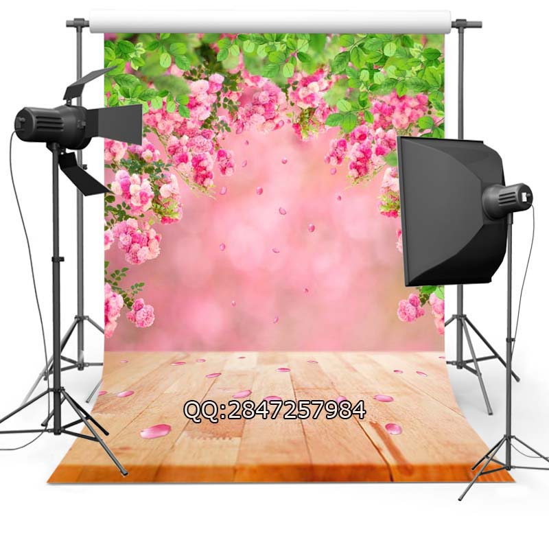 Thin Vinyl photography background Customize spring flowers  Backdrops Digital Printing Background for photo Studio F-2346<br><br>Aliexpress