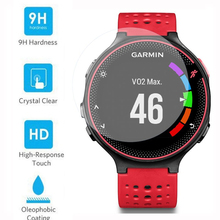 Thin Premium Tempered Glass for Garmin Forerunner 235 230 220 225 620 630 735 735XT Smart Watch Screen Protector Protective Film