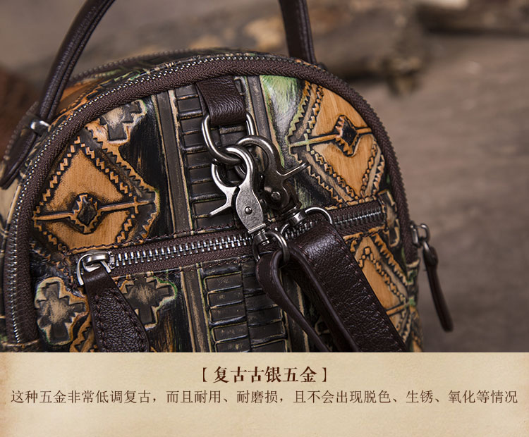 7a055bf1ff5f AETOO New Retro Cowhide Women S Shoulder Bag Casual Leather Multi ...