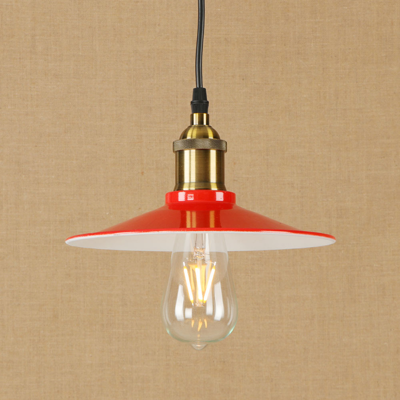 Modern LED iron pendant lamp vintage industry hanging light Loft style bar/restaurant living room bedroom lighting fixture 220v<br>