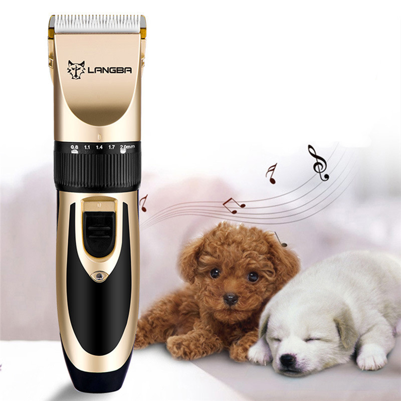 Professional Pet Grooming Set Dog Cat Nail Clippers Kit Rechargeable Pet Cat Dog Hair Trimmer Shaver Set Groomer Tool10